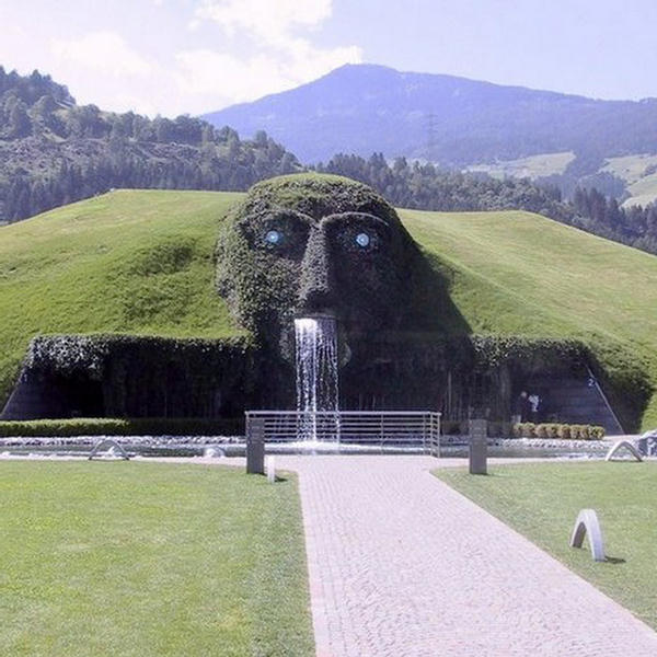 Swarovski Fountain  Austria