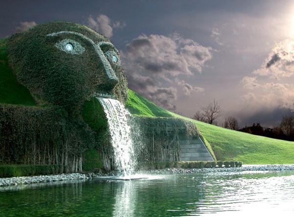 Swarovski Fountain  Austria