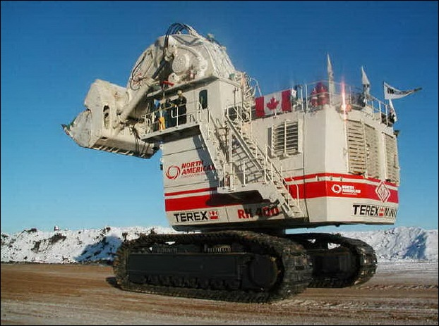 Terex Rh 400  Worlds Largest Hydraulic Shovel