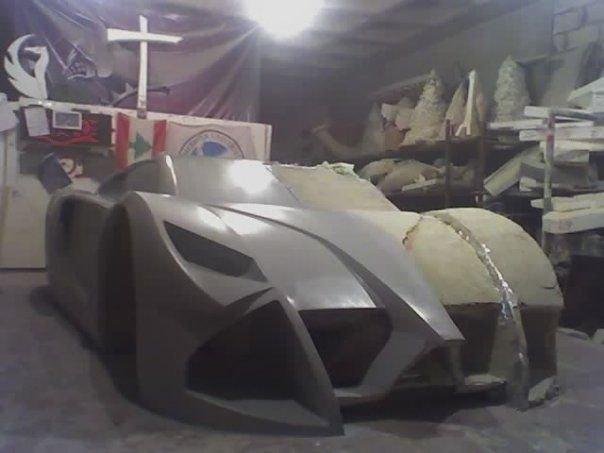 Hot Hand Made Car