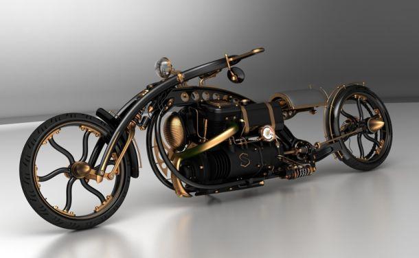 Steampunk Chopper Extreme Custom Motorcycle Xcitefun Net