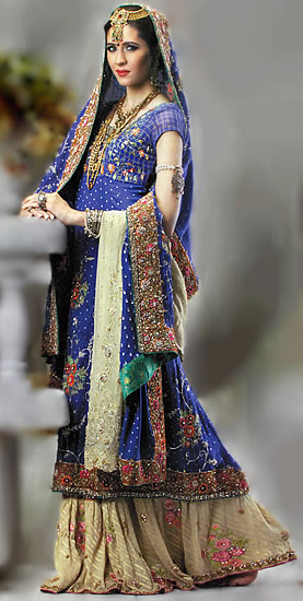 bride amp grooms party wear pakistani dresses