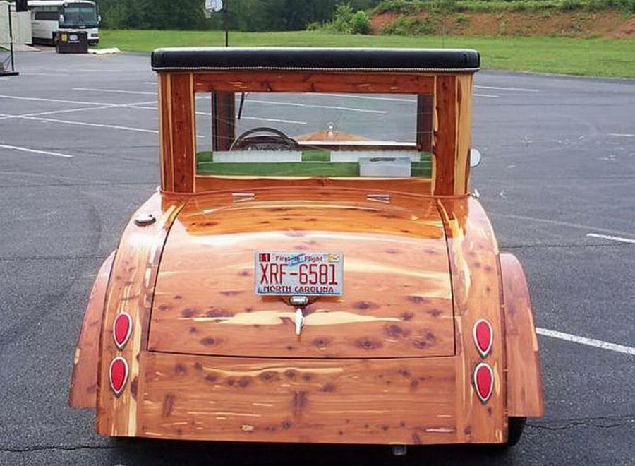 Beautiful Custom Built 2009 Wooden Car