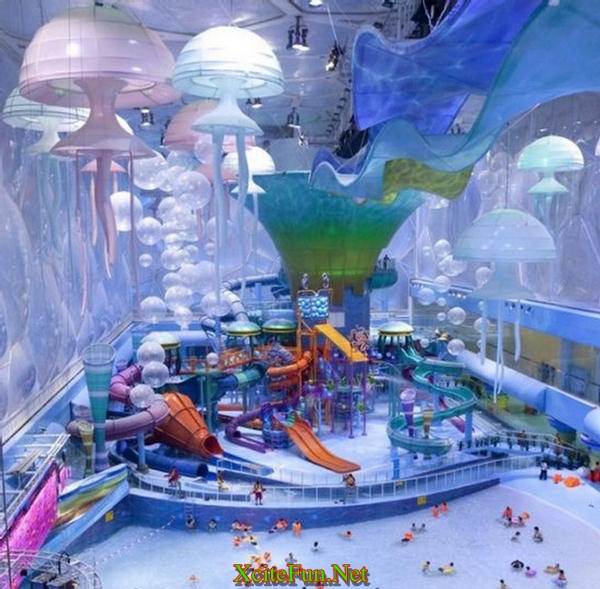 The biggest water park in the world