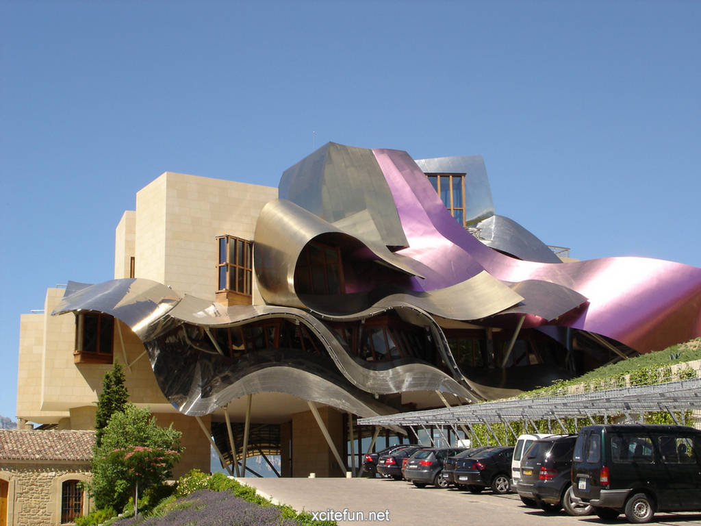 Marques de riscal hotel spain wallpapers for Hotel marques de riscal