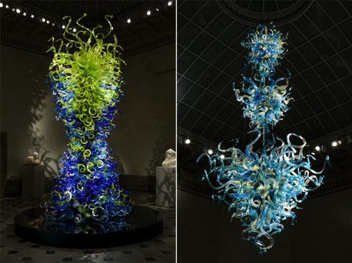 outstanding glass art work
