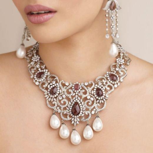 Kundan jewellery fashion beauty