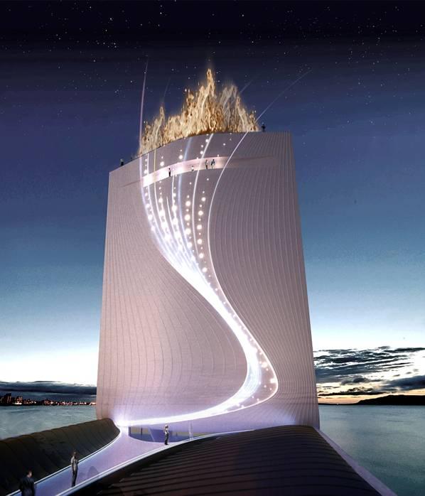 Solar Tower for the 2016 Olympic Games  Rio de Janeiro