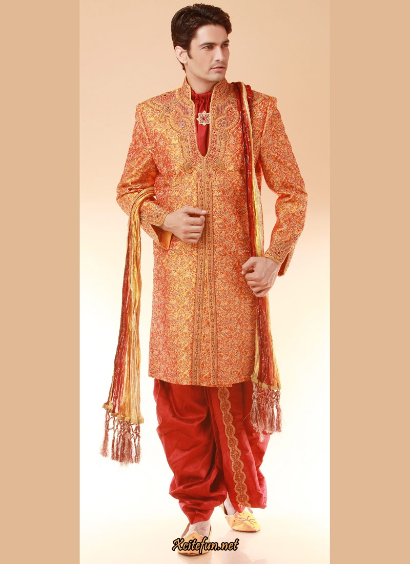 9c7ddf72736 Indian Groom Dress - Wedding Sherwanis - XciteFun.net