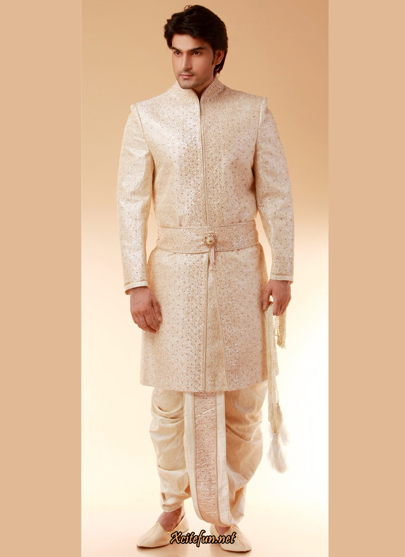 indian groom dress wedding sherwanis