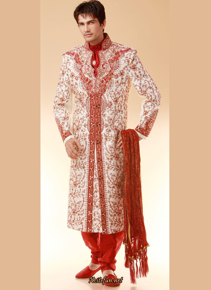 indian groom dress wedding sherwanis indusladies