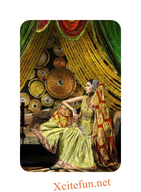MEHNDI DRESS FOR GIRLS