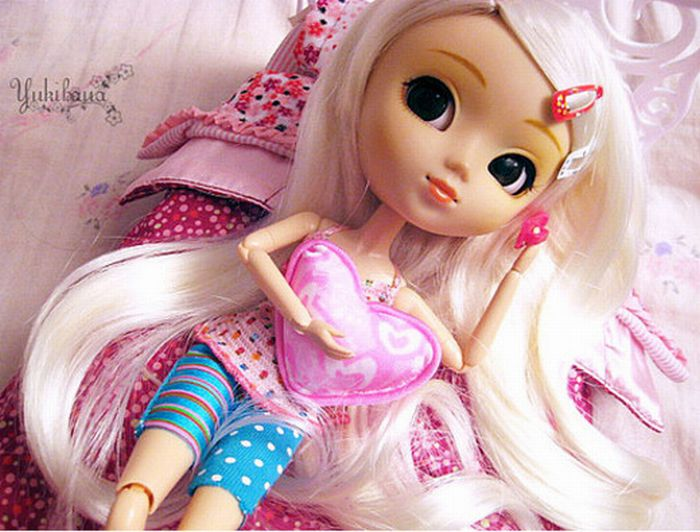 Beautiful Dolls Happy Birthday Images