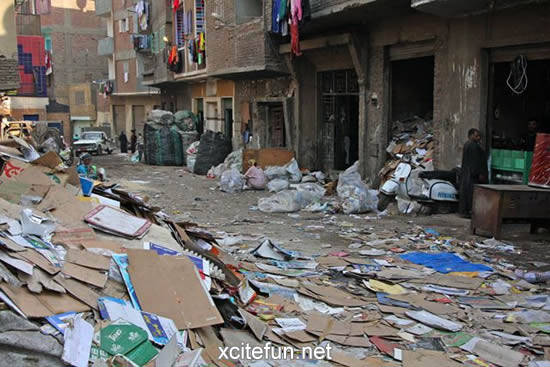 Manshiet Nasser  The City of Garbage