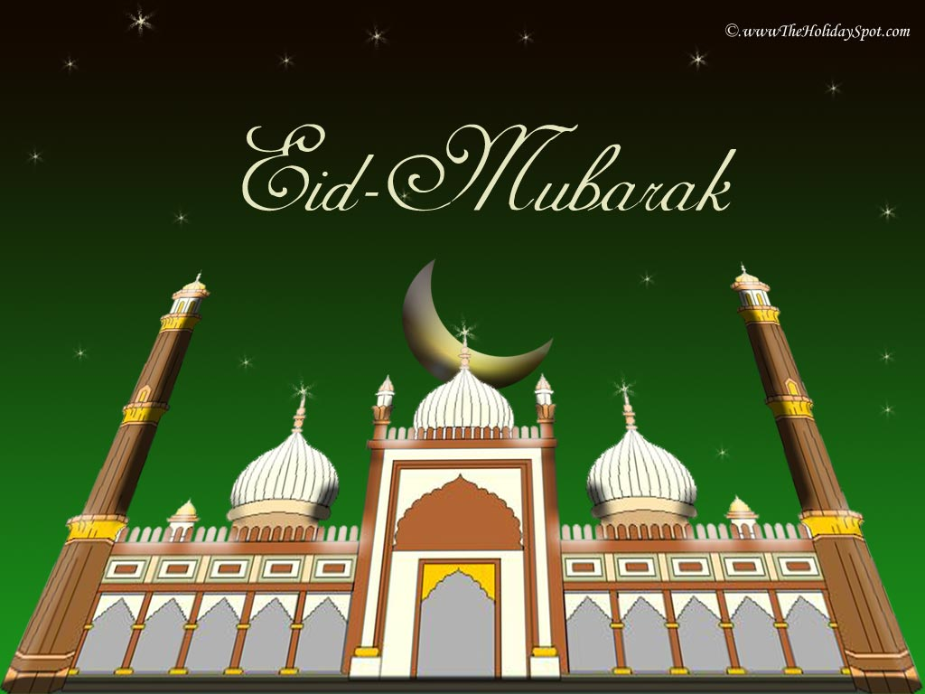 happy eid to all my friends… eid mubarak