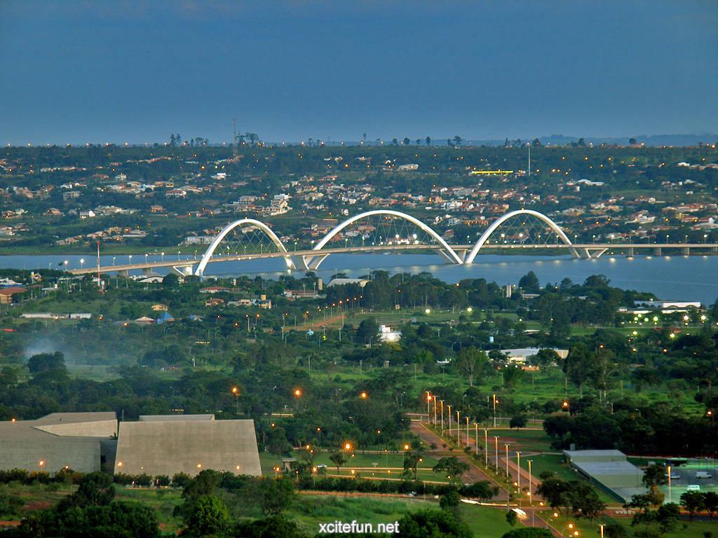 Jk Bridge A Beautiful Brazil Bridge Xcitefun Net