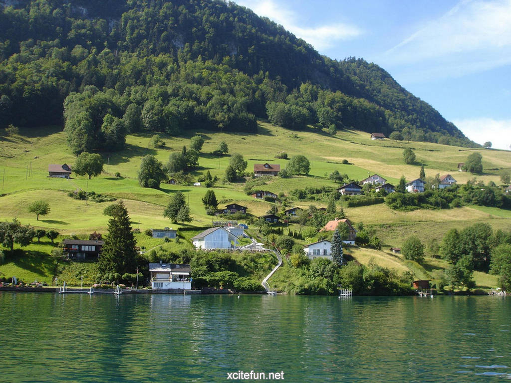 Lake Lucerne Switzerland Wallpapers Xcitefun Net