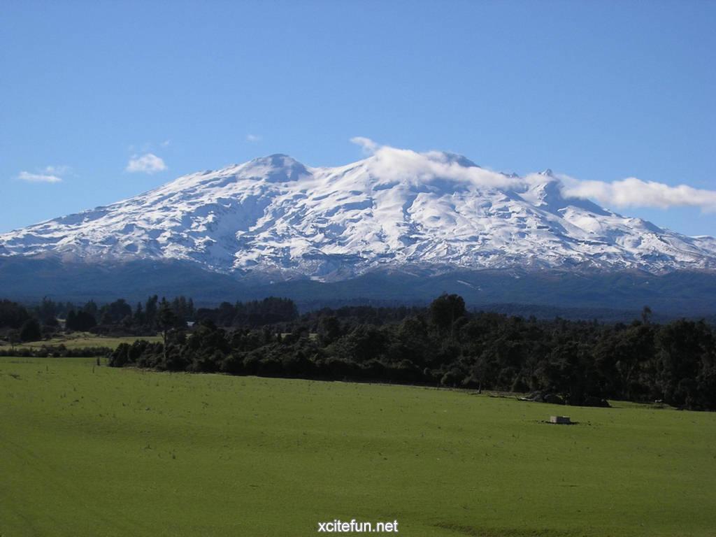 Mount Ruapehu New Zealand Wallpapers Xcitefun Net