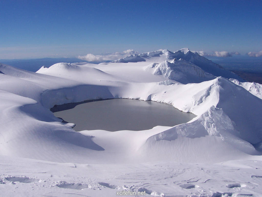 Mt Ruapehu Crater Lake New Zealand Wallpapers Xcitefun Net