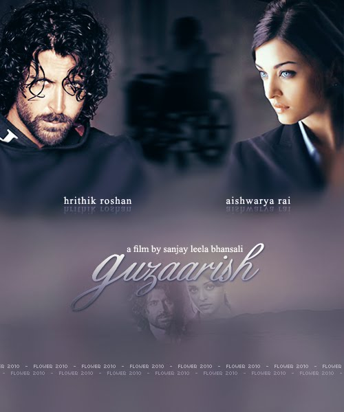 Guzaarish Movie Poster and Trailer - Aish n Hrithik : Movies, Parties