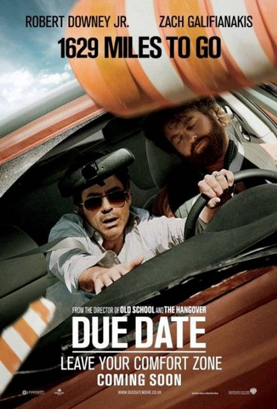 Due Date - Official® Trailer 1 [HD] | My movies | Pinterest | Due ...