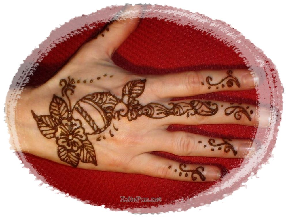 Quite Easy Mehndi Designs