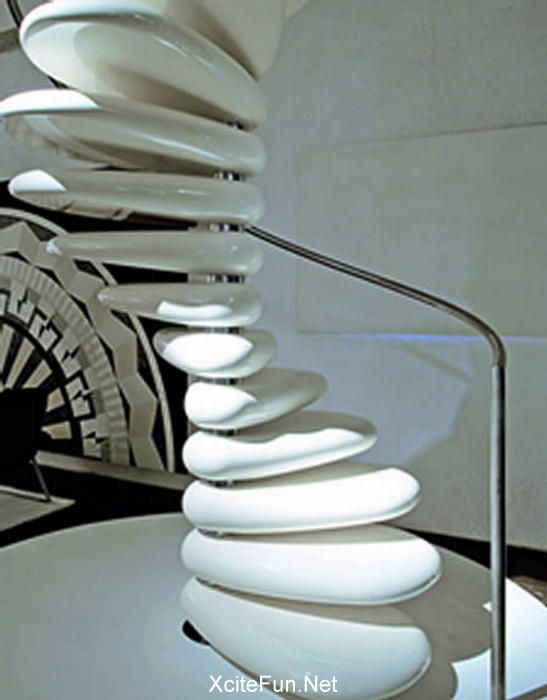 26 Mind Blowing And Attractive Creative Stairs Design Themes