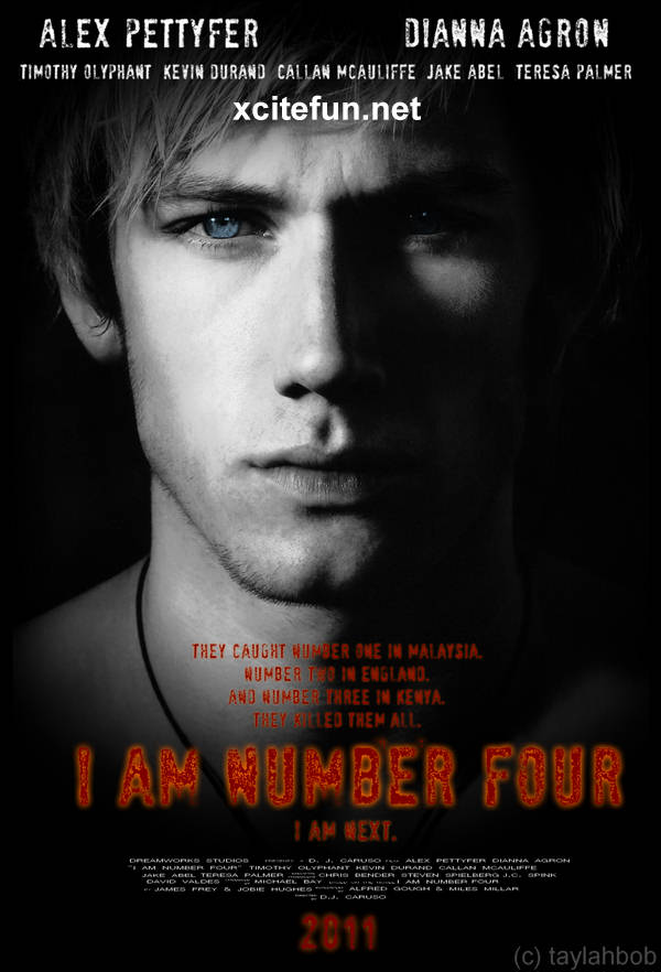 I Am Number Four Sci-Fi Movie Posters and Trailer ... I Am Number Four Movie Poster