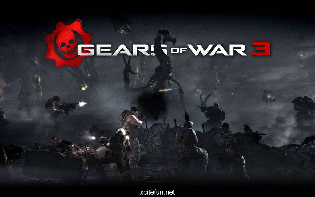 wallpaper games hd. Gears of War 3 Game Hd Trailer