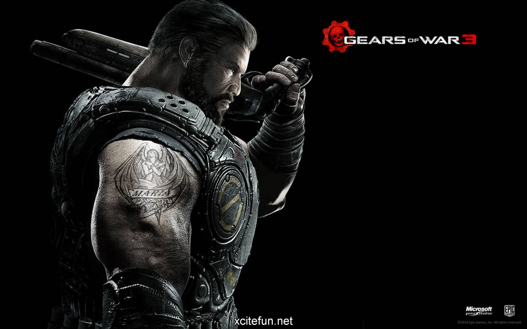 gears of war 3 game hd trailer and hq wallpapers