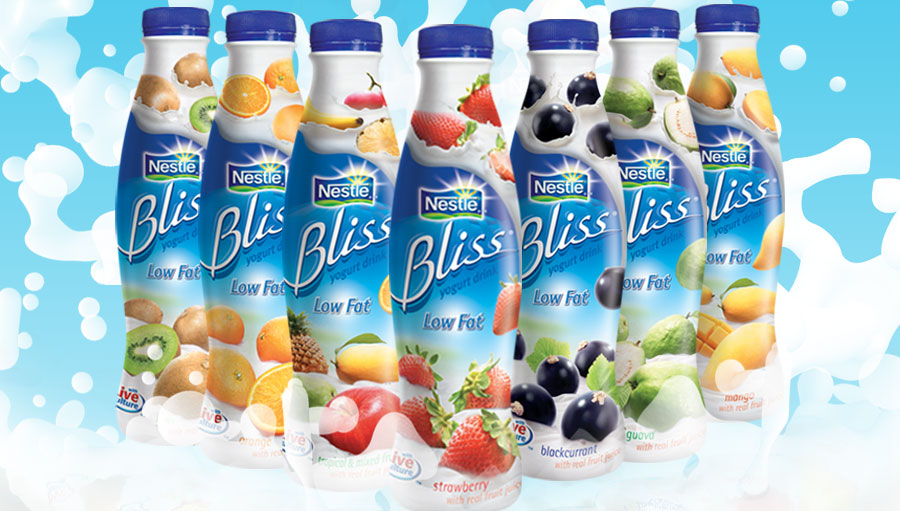 Yogurt Drink Logo Nestle Bliss Yogurt Drink 7