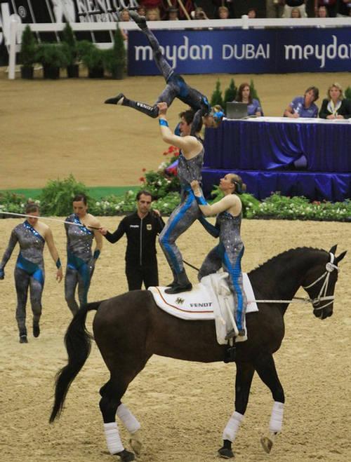 Equestrian Vaulting World Equestrian Games 2010