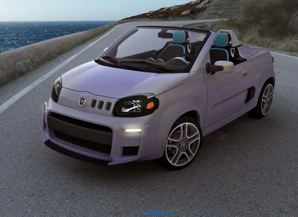 Fiat Uno Cabrio Concept Car 2010 Xcitefun Net