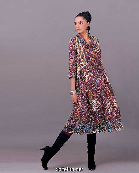 213595xcitefun gul ahmed winter 12 - gul ahmed lawn 2011