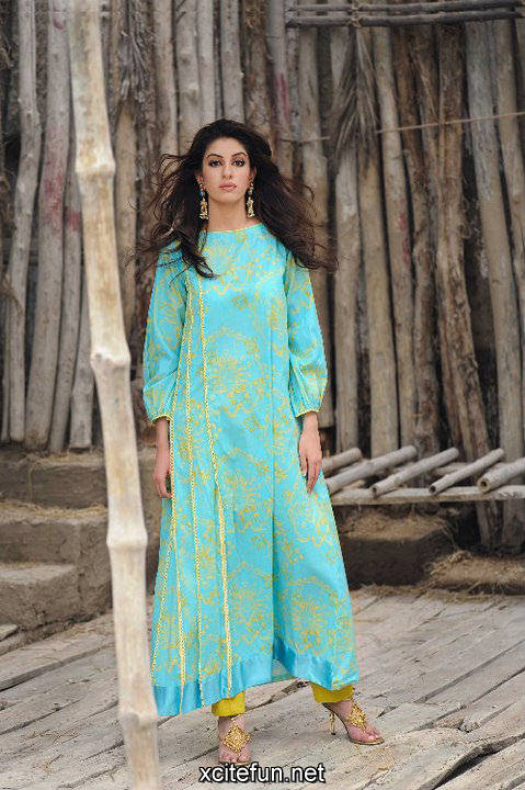 213597xcitefun gul ahmed winter 10 - gul ahmed lawn 2011
