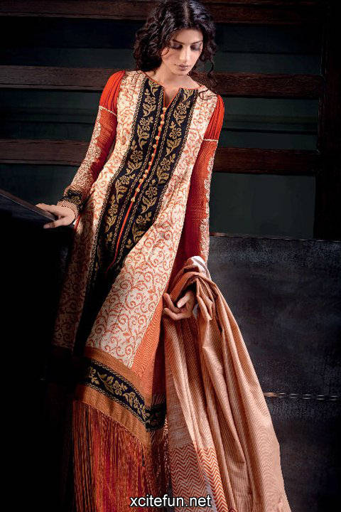 213600xcitefun gul ahmed winter 34 - gul ahmed lawn 2011
