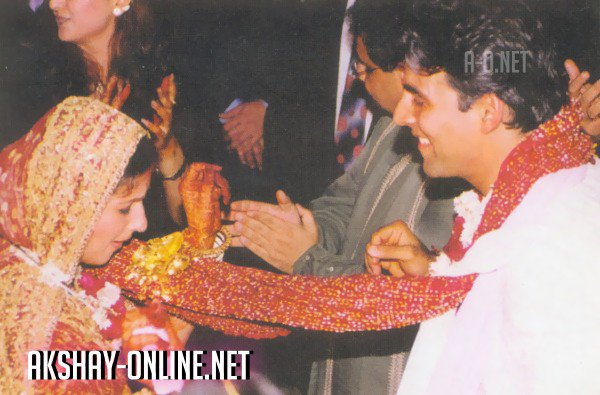 Unseen Wedding Pictures Of Akshay Kumar And Twinkle Khanna