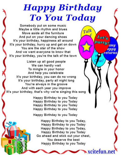 irthday poems for aunts.