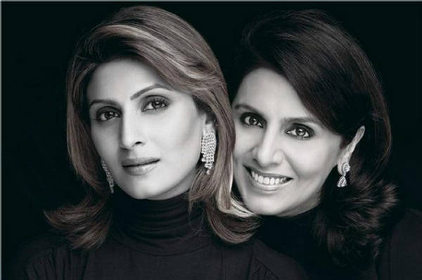 Notandass Jewelery Ads - Neetu Singh and Riddhima Kapoor ...