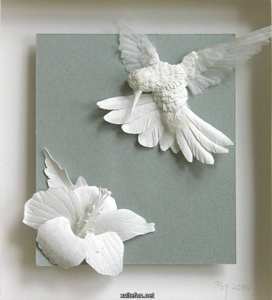 beautiful amazing paper art