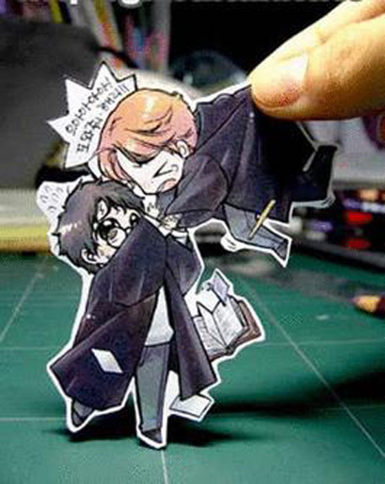 Paper Cartoon  The Funny Cutouts