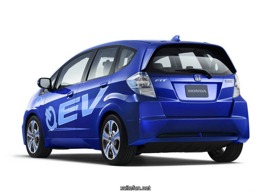 When The Honda Fit Ev Production Model Is Introduced It Will Be Ed By A Lithium Ion Battery And Coaxial Electric Motor