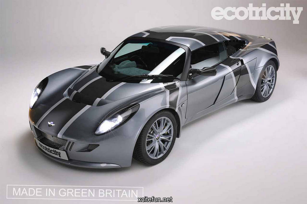 Ecotricity Nemesis Wind Energy Powered Sports Car