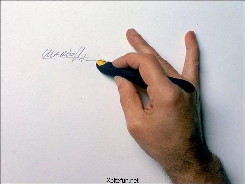 Funny Art Finger Wallpaper