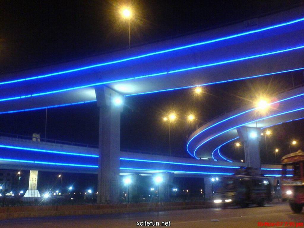 Karachi Bridges Fascinating