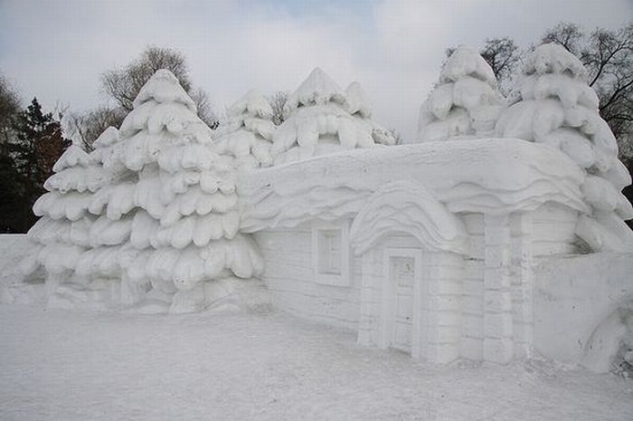 amazing ice sculpture wallpapers - photo #45