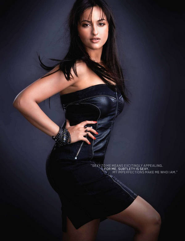 Sonakshi Sinha Maxim Winter Cover