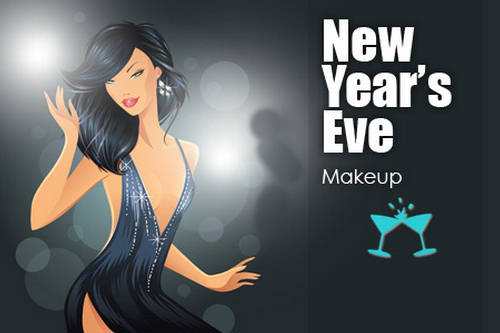 New Shades of New Year  Party Makeup