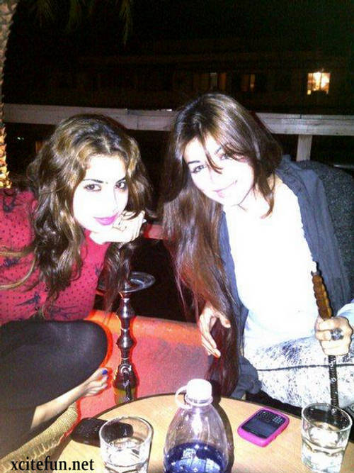 Photo of Ayesha Takia & her friend