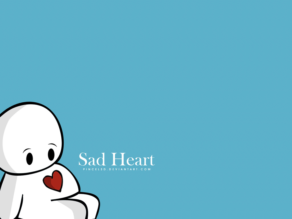 wallpapers for sad hearts